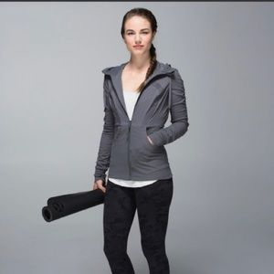 Lululemon Dance Studio III Gray Reversible Jacket